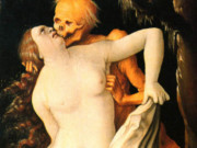 "Ханс Бальдунг (Hans Baldung) ""Девушка и смерть (2) 