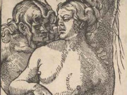 "Ханс Бальдунг (Hans Baldung) ""Адам и Ева (2) 