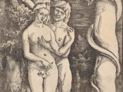 "Ханс Бальдунг (Hans Baldung) ""Адам и Ева (3) 