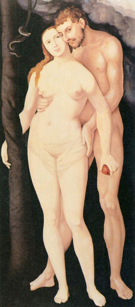"Ханс Бальдунг (Hans Baldung) ""Адам и Ева (4) 