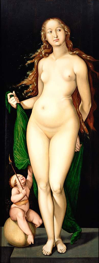 "Ханс Бальдунг (Hans Baldung) ""Венера и Амур 