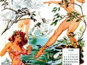 Джойс Баллантайн (Joyce Ballantyne), Pin Up Calendar June