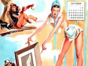 Джойс Баллантайн (Joyce Ballantyne), Pin Up Calendar October