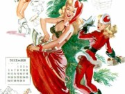 Джойс Баллантайн (Joyce Ballantyne), Pin Up Calendar December