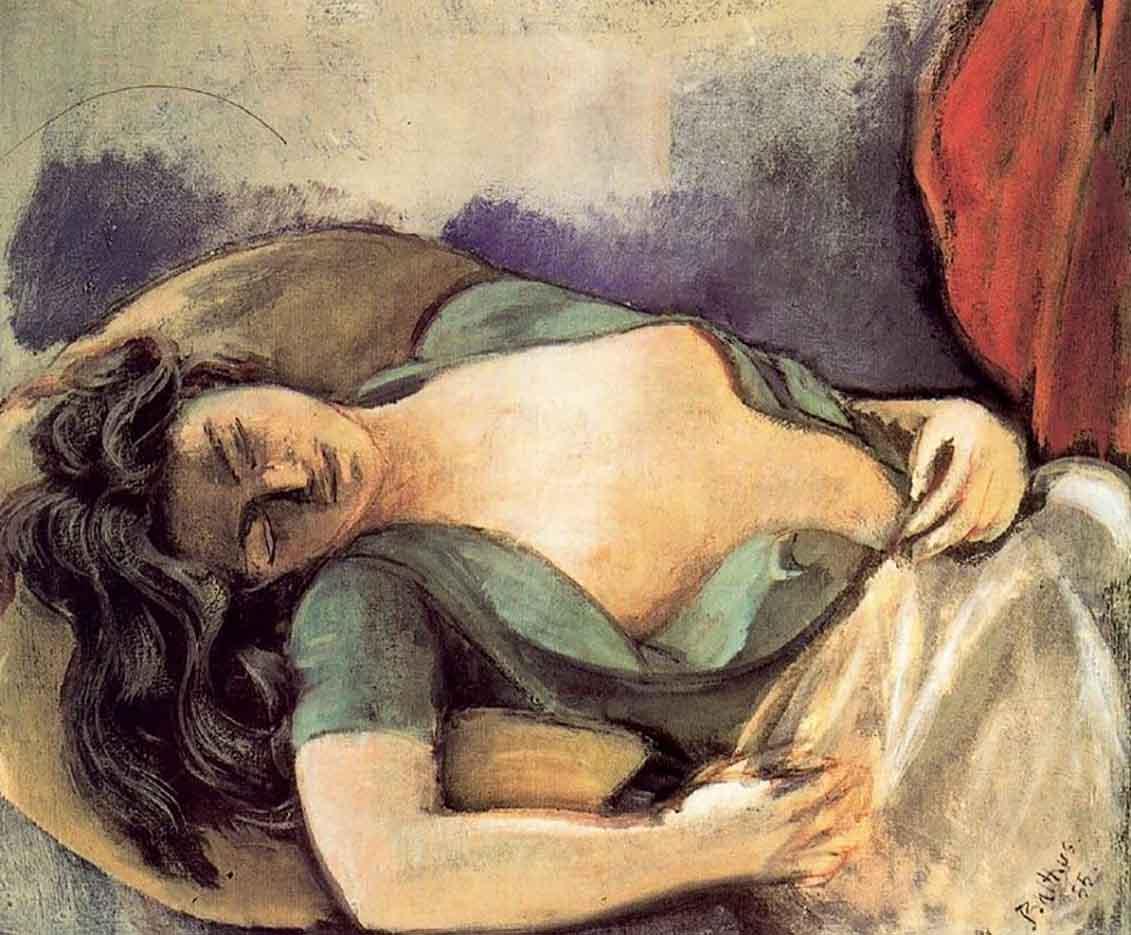 """Бальтюс (Бальтазар Клоссовски де Рола), Balthus (Balthasar Kłossowski de Rola) """"Study for the Dream I"""""""