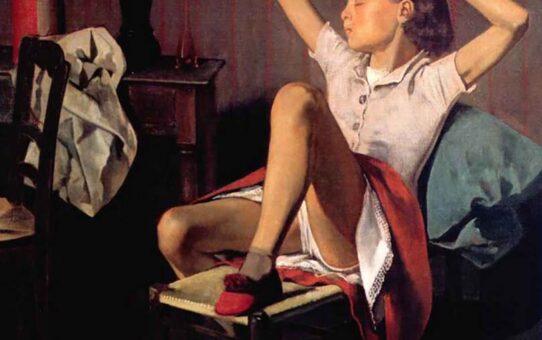 "Бальтюс (Бальтазар Клоссовски де Рола), Balthus (Balthasar Kłossowski de Rola) ""Therese dreaming"""
