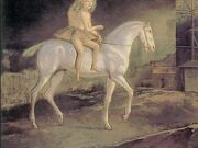 "Бальтюс (Бальтазар Клоссовски де Рола), Balthus (Balthasar Kłossowski de Rola) ""Girl on a white horse"""