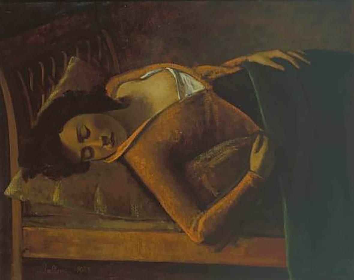 """Бальтюс (Бальтазар Клоссовски де Рола), Balthus (Balthasar Kłossowski de Rola) """"Sleeping Girl"""""""