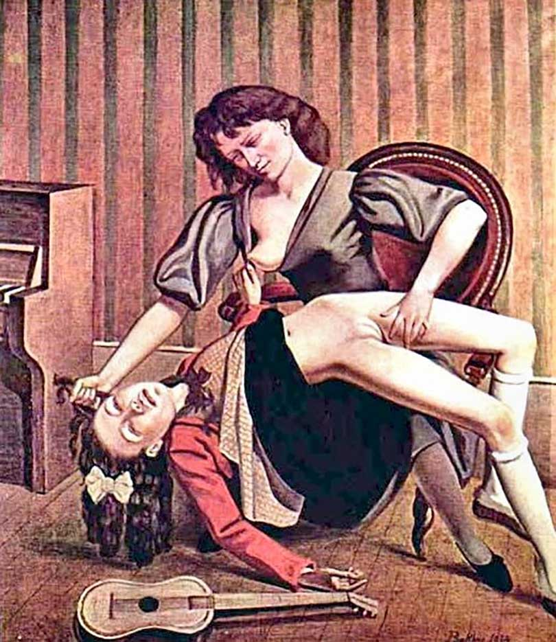 """Бальтюс (Бальтазар Клоссовски де Рола), Balthus (Balthasar Kłossowski de Rola) """"Guitar lesson"""""""