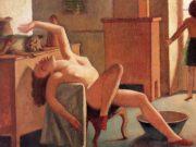 """Бальтюс (Бальтазар Клоссовски де Рола), Balthus (Balthasar Kłossowski de Rola) """"Nude with Cat"""""""
