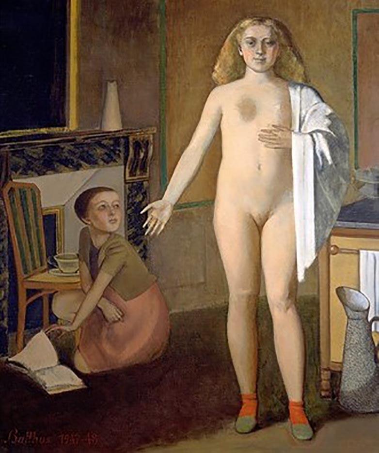 """Бальтюс (Бальтазар Клоссовски де Рола), Balthus (Balthasar Kłossowski de Rola) """"The Room"""""""