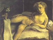 "Бальтюс (Бальтазар Клоссовски де Рола), Balthus (Balthasar Kłossowski de Rola) ""Girl on a Bed"""
