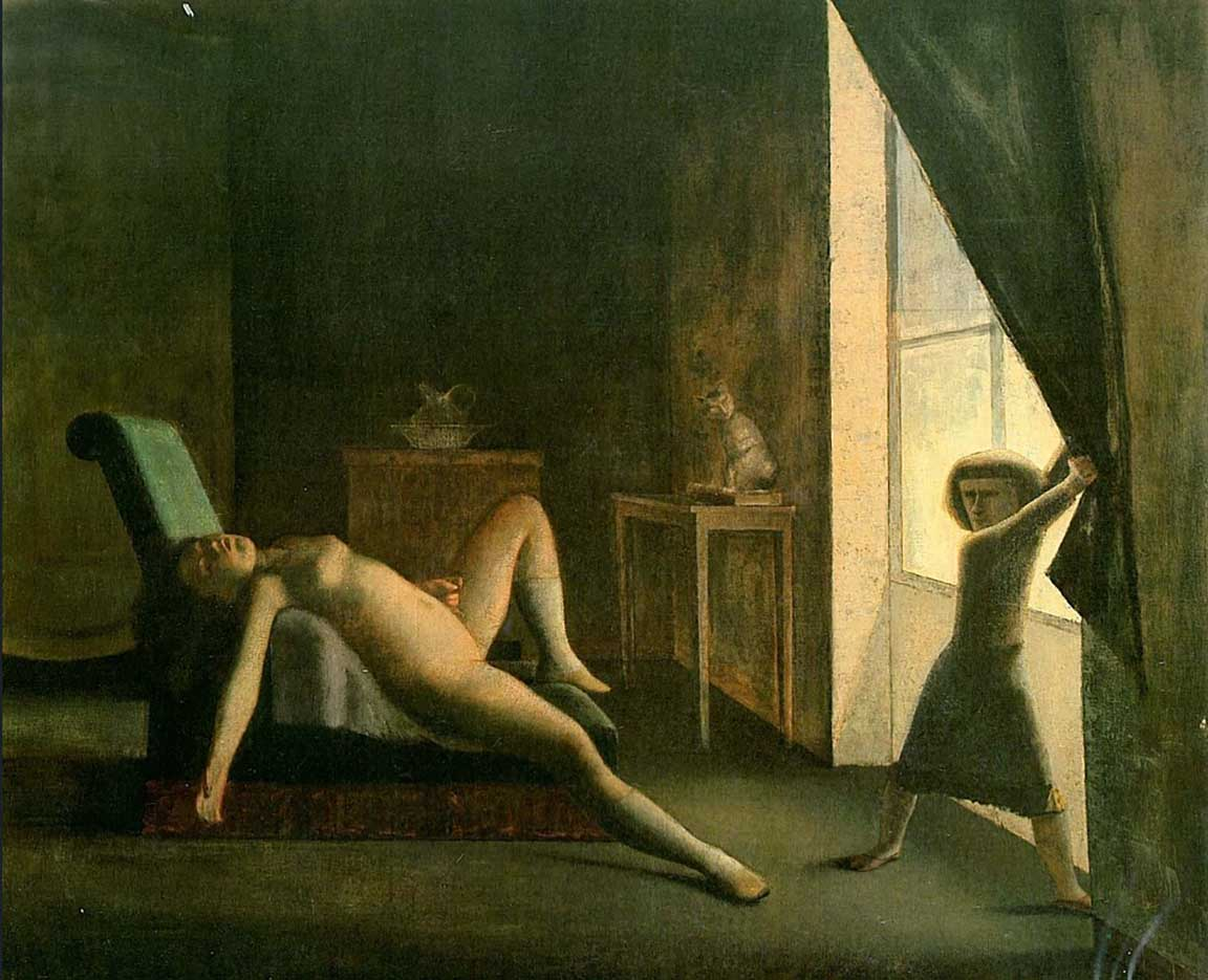 "Бальтюс (Бальтазар Клоссовски де Рола), Balthus (Balthasar Kłossowski de Rola) ""The Room - 2"""