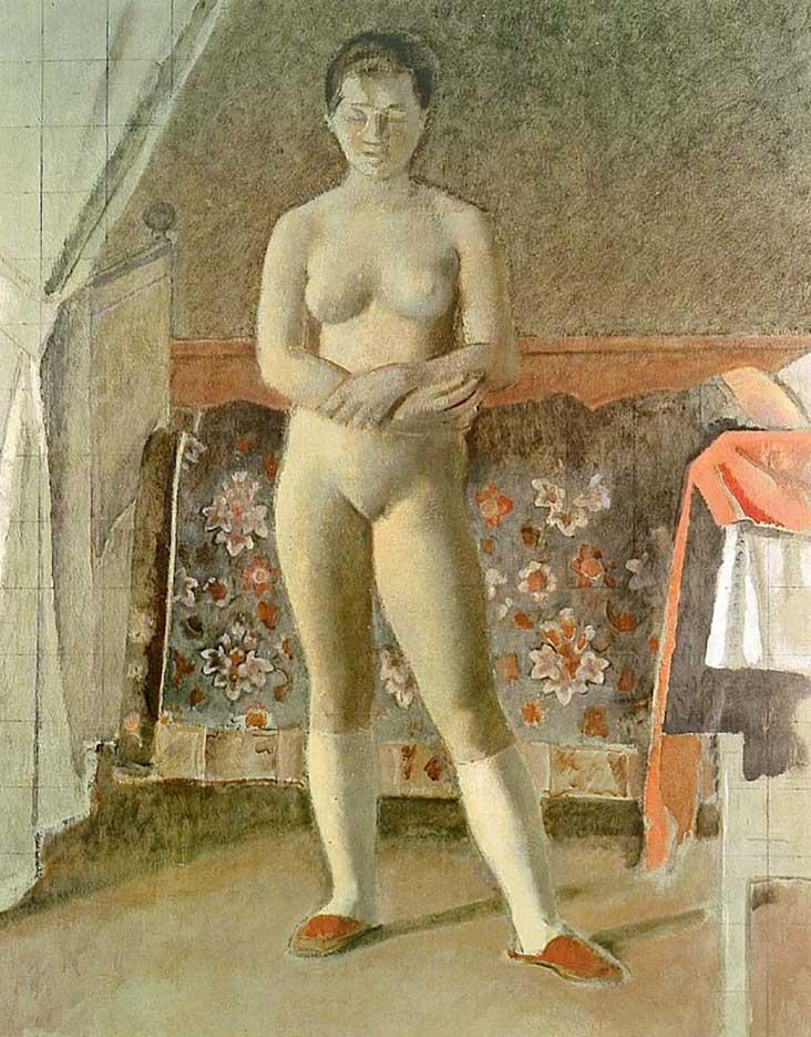 """Бальтюс (Бальтазар Клоссовски де Рола), Balthus (Balthasar Kłossowski de Rola) """"The Toilet"""""""