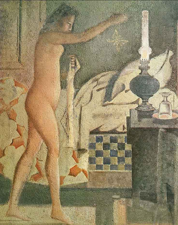 """Бальтюс (Бальтазар Клоссовски де Рола), Balthus (Balthasar Kłossowski de Rola) """"The Moth"""""""