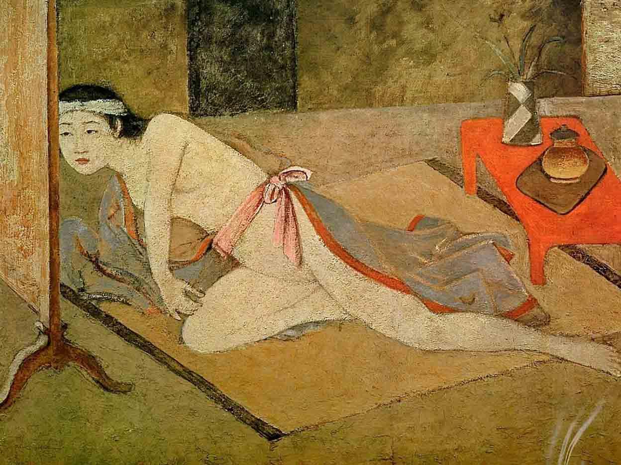 "Бальтюс (Бальтазар Клоссовски де Рола), Balthus (Balthasar Kłossowski de Rola) ""Japanese Girl with Red Table"""