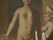 "Бальтюс (Бальтазар Клоссовски де Рола), Balthus (Balthasar Kłossowski de Rola) ""Jeune Fille à Sa Toilette"""