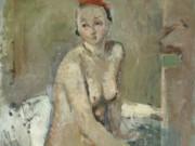 """Бальтюс (Бальтазар Клоссовски де Рола), Balthus (Balthasar Kłossowski de Rola) """"Nu féminin assis"""""""