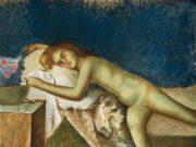 """Бальтюс (Бальтазар Клоссовски де Рола), Balthus (Balthasar Kłossowski de Rola) """"Nu couchéi"""""""