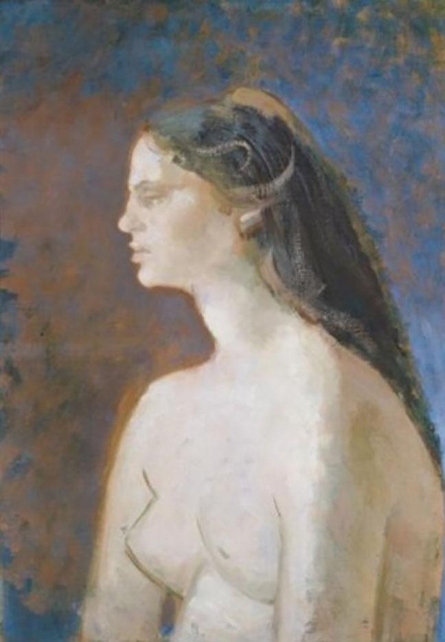 """Бальтюс (Бальтазар Клоссовски де Рола), Balthus (Balthasar Kłossowski de Rola) """"Buste de jeune fille"""""""