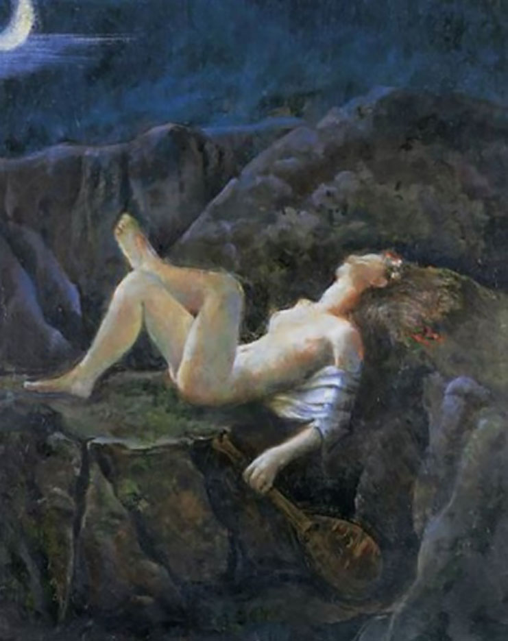 """Бальтюс (Бальтазар Клоссовски де Рола), Balthus (Balthasar Kłossowski de Rola) """"A midsummer night's dream"""""""