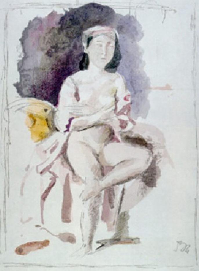 """Бальтюс (Бальтазар Клоссовски де Рола), Balthus (Balthasar Kłossowski de Rola) """"Sight and sound"""""""