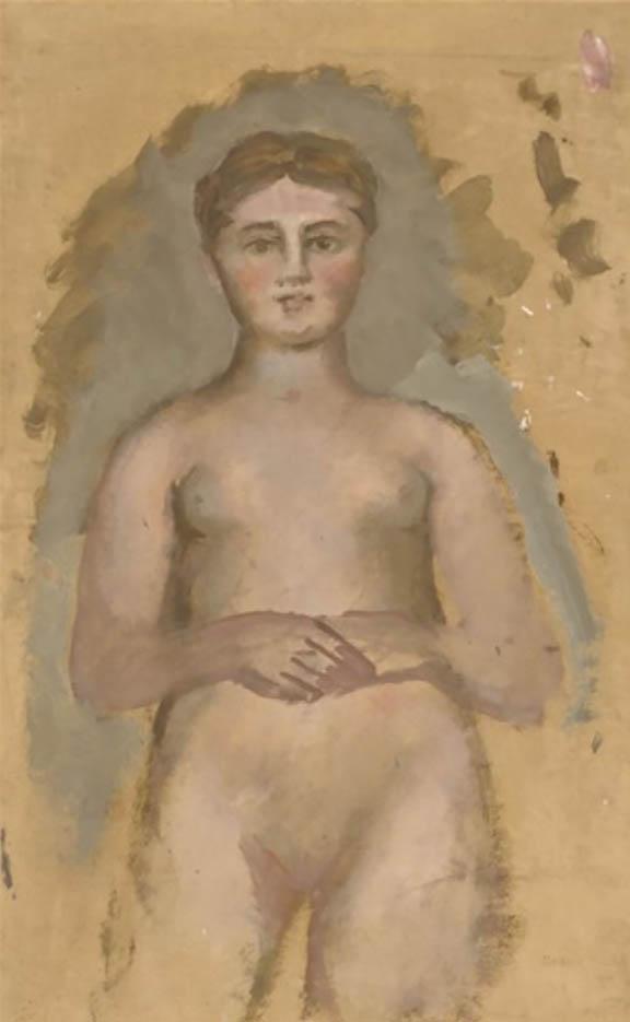 """Бальтюс (Бальтазар Клоссовски де Рола), Balthus (Balthasar Kłossowski de Rola) """"Étude de nu"""""""