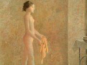"""Бальтюс (Бальтазар Клоссовски де Рола), Balthus (Balthasar Kłossowski de Rola) """"Nude in Profile"""""""
