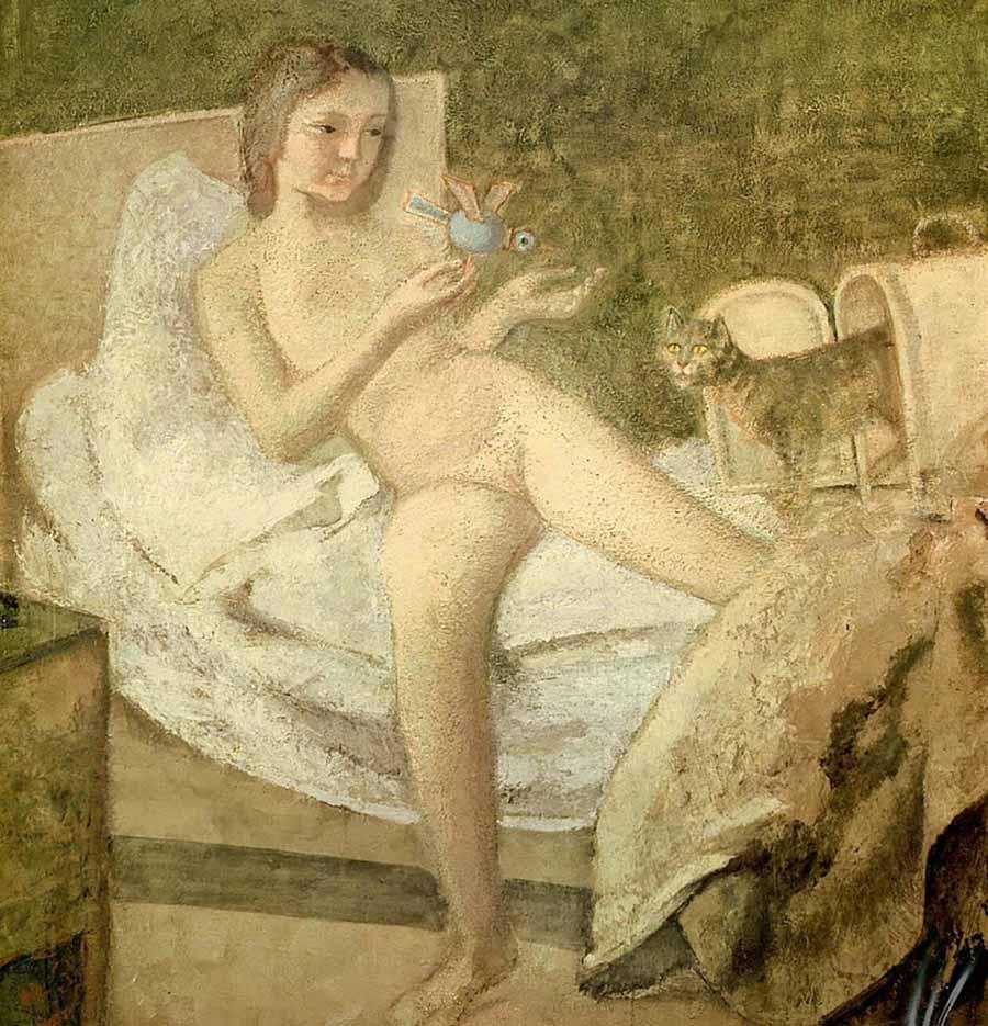"""Бальтюс (Бальтазар Клоссовски де Рола), Balthus (Balthasar Kłossowski de Rola) """"Getting Up"""""""