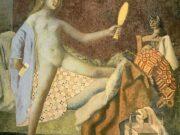 "Бальтюс (Бальтазар Клоссовски де Рола), Balthus (Balthasar Kłossowski de Rola) ""The Cat in the Mirror"""