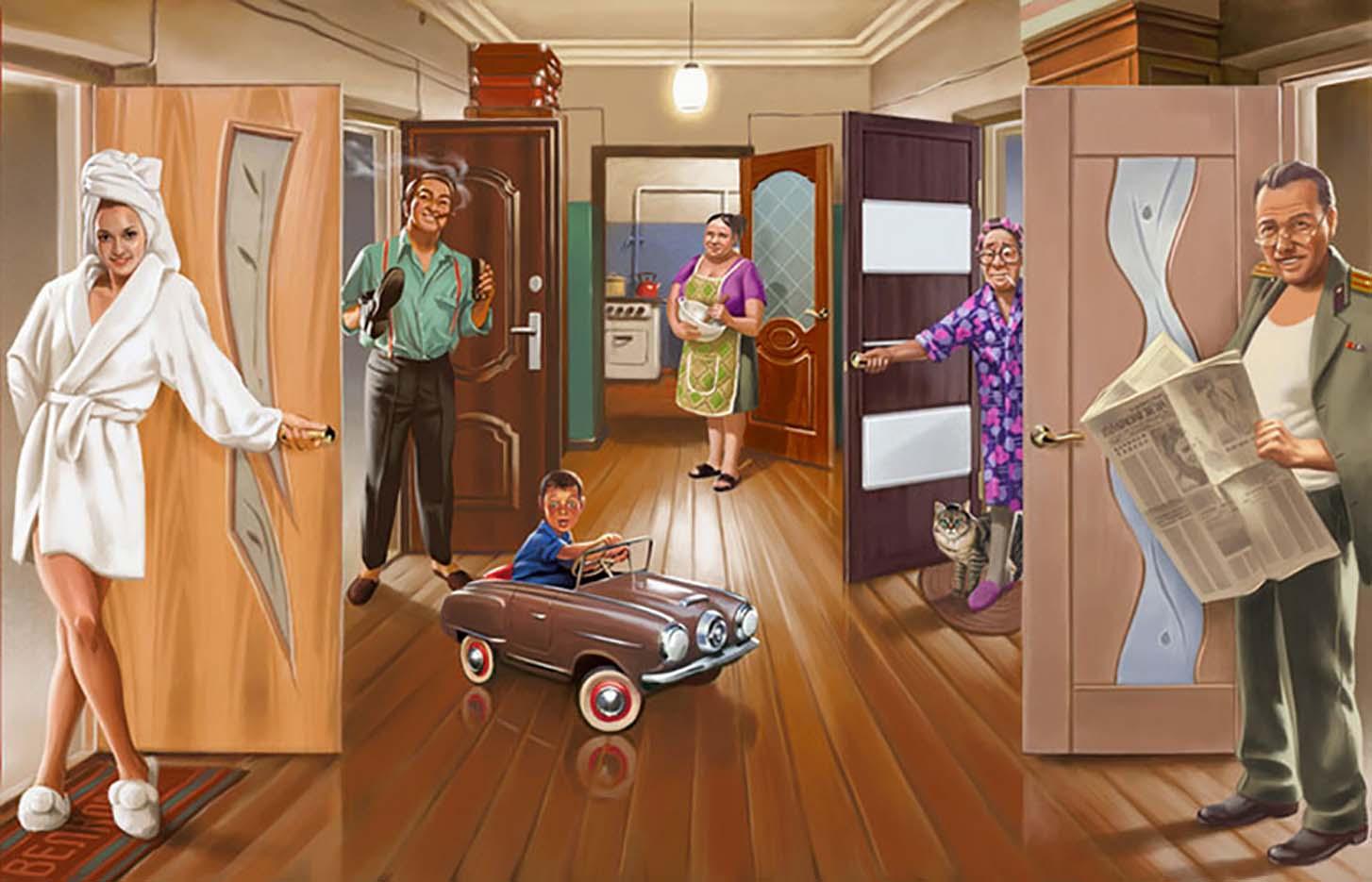 "Валерий Барыкин (Valery Barykin) ""Коммунальная квартира | Communal apartment"""