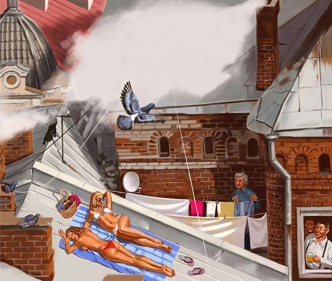 "Валерий Барыкин (Valery Barykin) ""Солнечные крыши | Solar roofs"""