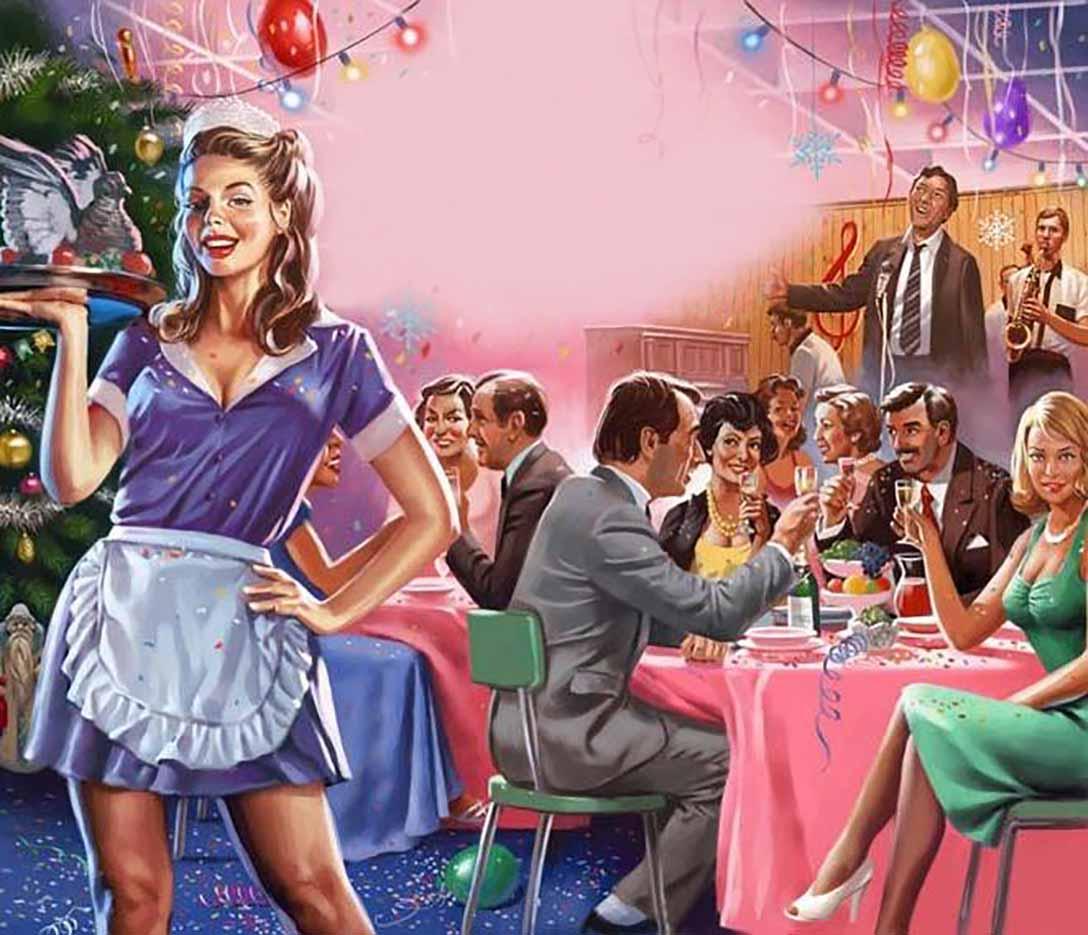 "Валерий Барыкин (Valery Barykin) ""Новый год в «Плакучей Иве» | New Year at «Weeping Willow»"""