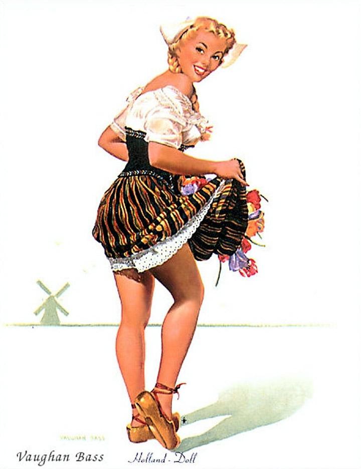 Воган Альден Басс (Vaughan Alden Bass), Holland Doll