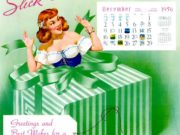 Вон Альден Басс (Vaughan Alden Bass), Slick Chicks, Calendar for 1957