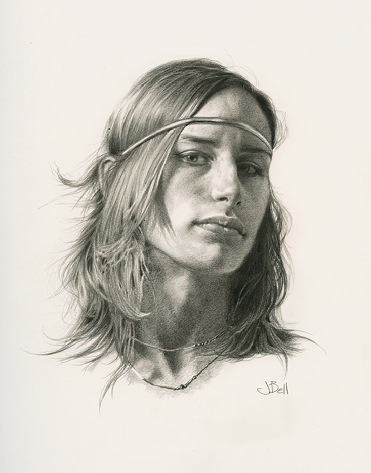 "Джули Белл (Julie Bell) ""Abby"" (Drawing)"