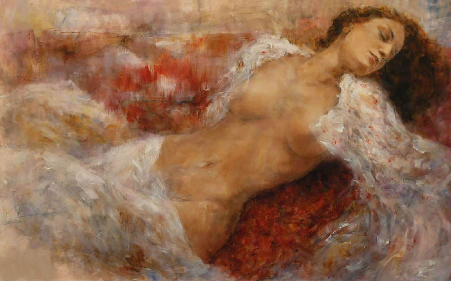 "Гари Бенфилд (Gary Benfield) ""Red Chaise"""