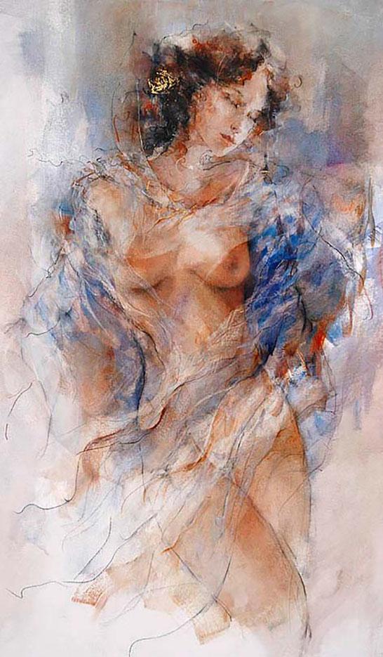 """Гари Бенфилд (Gary Benfield) """"Study in Blue"""""""