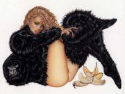 """Оливия де Берардинис (Olivia de Berardinis), """"Gorilla Lady"""""""