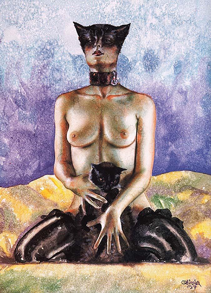"Оливия де Берардинис (Olivia de Berardinis), ""Animals - 4"""