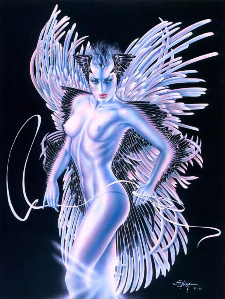 "Оливия де Берардинис (Olivia de Berardinis), ""Winged Lady"""