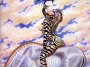 "Оливия де Берардинис (Olivia de Berardinis), ""Zebra Lady"""