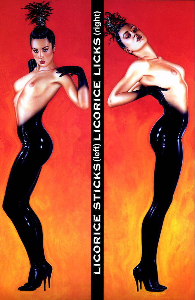 "Оливия де Берардинис (Olivia de Berardinis), ""Licorice Sticks / Licorice Licks"""