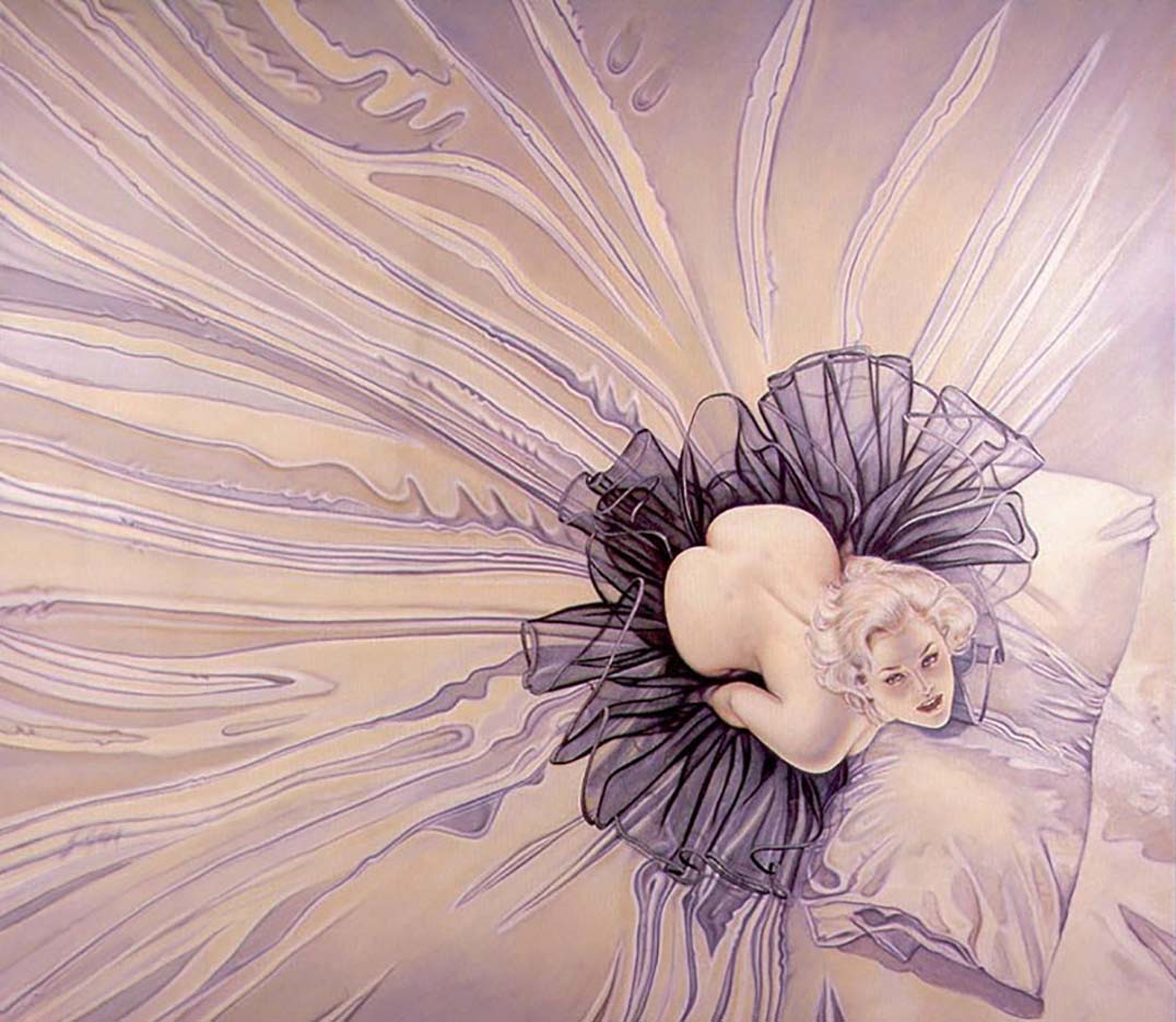 "Оливия де Берардинис (Olivia de Berardinis), ""Sea Of Satin"""
