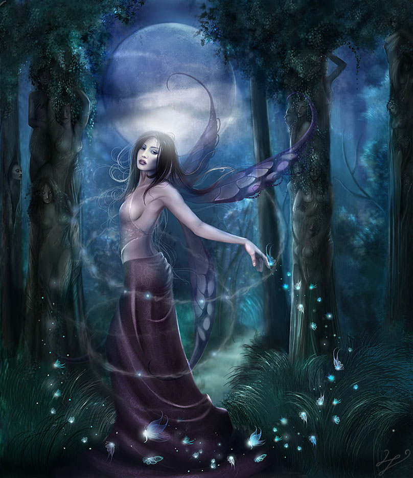 Линда Бергквист (Linda Bergkvist, Enayla), Nightly Forests