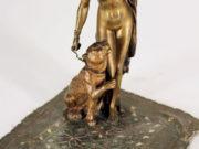 "Франц Ксавьер Бергман (Franz Xavier Bergman) ""Harem Woman with Cheetah Measurements"""