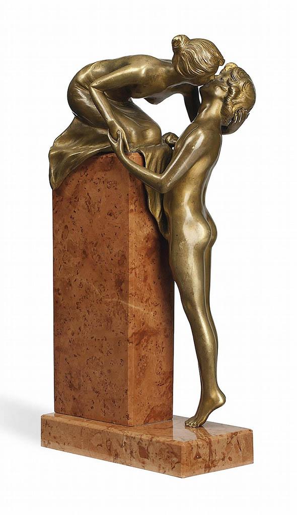 """Франц Ксавьер Бергман (Franz Xavier Bergman) """"The Kiss"""""""