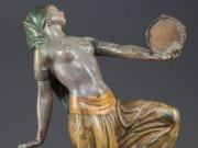"Франц Ксавьер Бергман (Franz Xavier Bergman) ""Cold painted figural bronze"""
