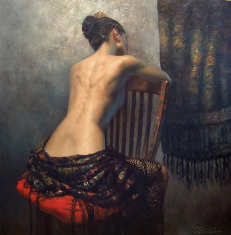 "Хэмиш Блэкли (Hamish Blakely) ""The Artists Chair"""