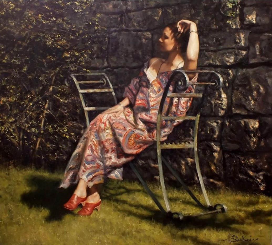 "Хэмиш Блэкли (Hamish Blakely) ""The Garden Seat"""